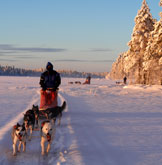 Winter in Lappland
